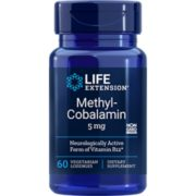 Methylcobalamin, 5 mg, 60 vege tarian lozenges