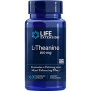 L-Theanine, 100 mg, 60 vegetar ian capsules