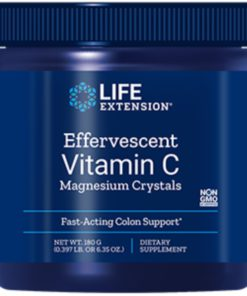 Effervescent Vit C Mag Crystal s, 180 grams