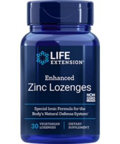 Enhanced Zinc Lozenges, 30 veg etarian lozenges