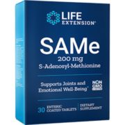 SAMe, 200 mg, 30 enteric-coate d tablets