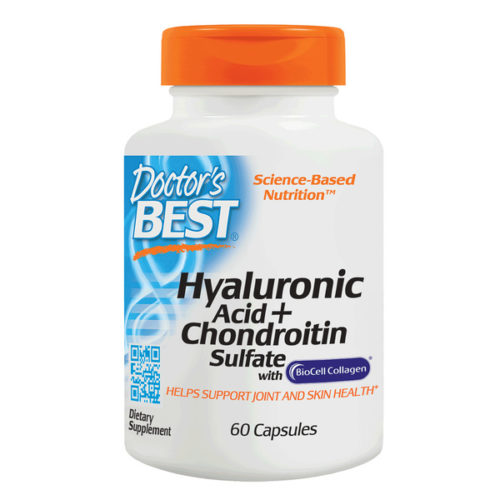 Hyaluronic Acid, 50mg x60Caps, + Chondroitin