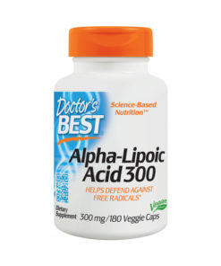 Alpha Lipoic Acid, 300mg x 180VCaps