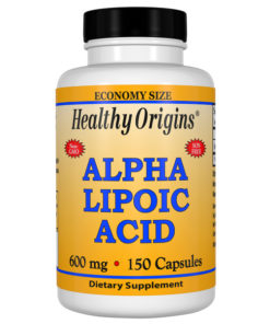 Alpha Lipoic Acid, 600mg x 150 Caps