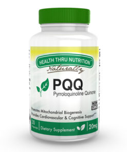 PQQ (as PureQQ™) 20mg (NON-GMO) 30 Vegecaps