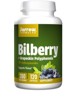 Bilberry + Grapeskin Polyphenols, 280mg x 120Caps