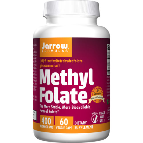 Folate, Methyl, 400mcg x 60Caps
