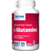 L-Glutamine,  1000mg x 100Tabs, Easy Solve