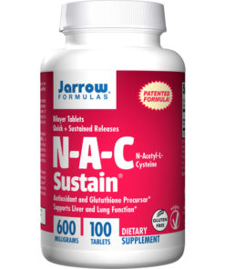 NAC Sustain, 600mg x100 Bilayer Tablets