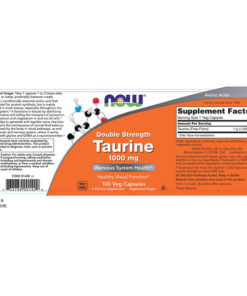 Taurine Double Strength, 1000mg x 100 VCAPS