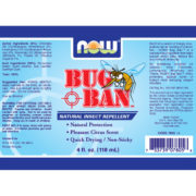Bug Ban Spray, 4fl oz (118ml) Natural Insect Repellant
