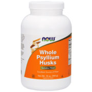 Psyllium Husks, Whole, 12oz (340g)