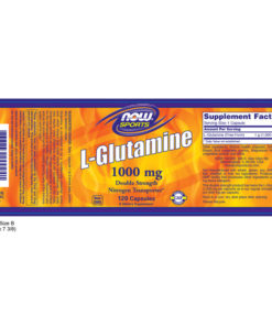 L-Glutamine, (Sports) 1000mg x 120 CAPS