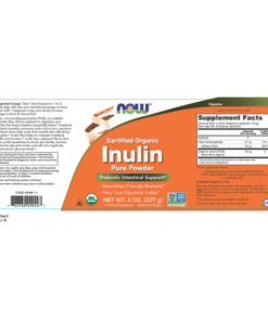 Inulin FOS, 8oz (227g) Powder Organic
