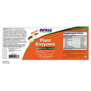 Enzymes, Plant Enzymes, 120 VCaps