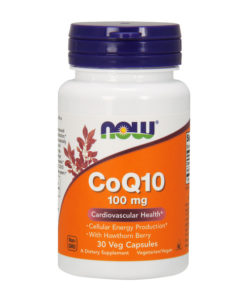 CoQ10, With Hawthorn Berry, 100mg x 30 VCaps