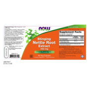 Nettle Root Extract, 250mg x 90 VCAPS