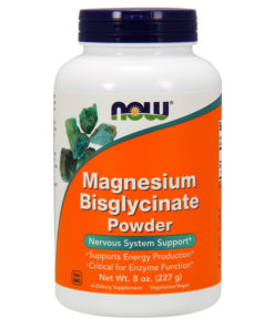 Magnesium Bisglycinate Powder, 8OZ (227g)