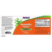 Boswellia Extract, 500mg x 90 SoftGels