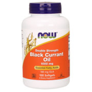 Black Currant Oil, 1000mg x 100Sgels, Dbl Strength