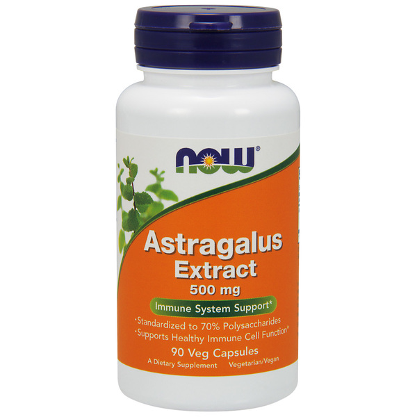 Now Foods Astragalus Extract, 500mg x 90 Vegetarian Capsules