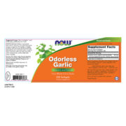 Garlic, Odorless Concentrated Extract, 250 Sgels