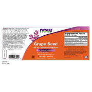 Grape Seed Extract, 100mg x200Vcaps