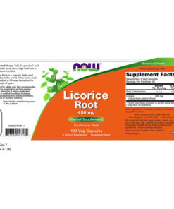 Licorice Root, 450mg x 100VCaps