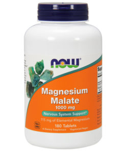 Magnesium Malate, 1000mg x 180VeggieTabs