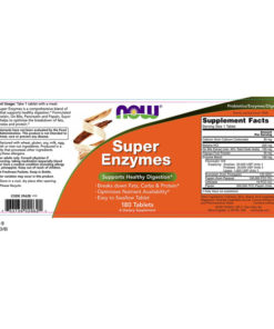 Enzymes Super, 180 Tabs