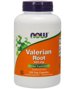 Valerian Root, 500mg x 250Caps