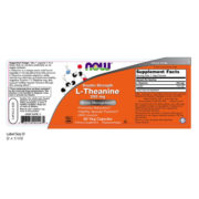 L-Theanine, 200mg x 60VCaps, Double Strength