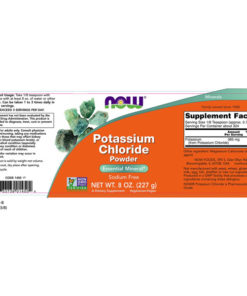 Potassium Chloride Powder, 8oz - 227g, 730mg x 162Servings
