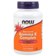 Vitamin E, Gamma E Complex, 120 SGels, Advanced