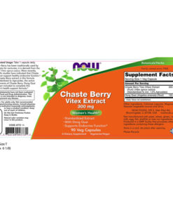 Vitex Extract, Chaste Berry, 300mg x 90VCaps