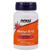 Vitamin B-12, Methylcobalamin, 1000mcg  100 Loz