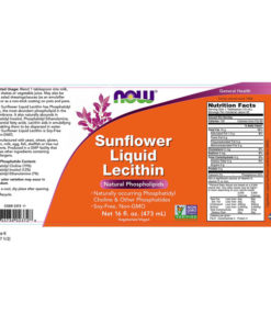 Lecithin Liquid, Sunflower, 16fl.oz. (473ml)