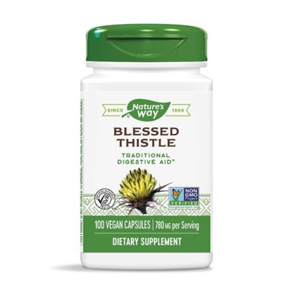 Nature's Way Blessed Thistle Herb, 100Caps