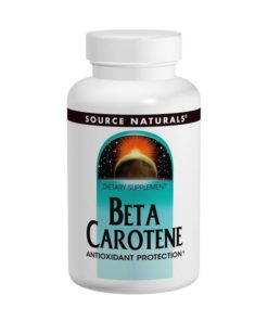 Vitamin A, Beta Carotene 25,000iu x 100 SoftGels
