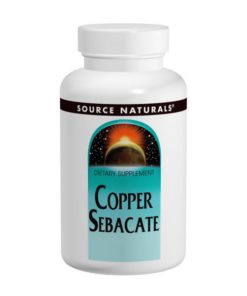 Copper Sebacate, 22 mg x 120Tablets