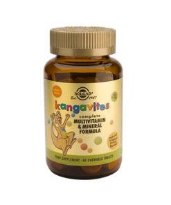 Kangavites® Complete Multivitamin & Mineral  Formula for Children (Tropical Punch)   60 Chewable Tablets